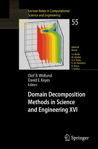 Domain Decomposition Methods in Science and Engineering XVI (Lecture Notes in Computational Science and Engineering)