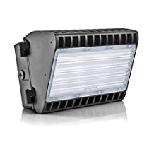 Hyperikon LED 150W Wall Pack Fixture, 1050W HPS/HID Replacement, 5000K, 19,350 Lumens, Waterproof and Outdoor Rated, UL Listed