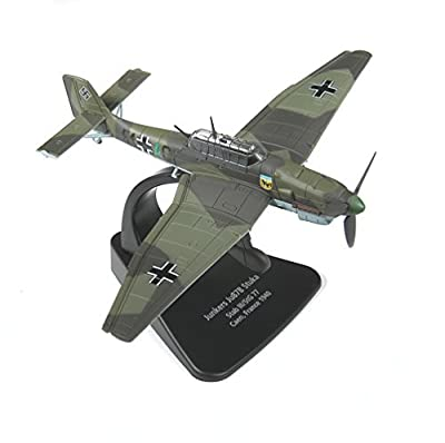Oxford Diecast Model 1:72 Junkers Ju-87 Stuka German Aircraft Collectable Gift by Oxford Diecast