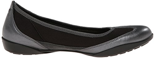 ECCO Women's Bluma Slip On Ballerina Flat Dark Shadow discount supply JczLvJUS6u