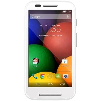 Motorola Moto E (1st Generation) - White - 4 GB - US GSM  Unlocked Phone