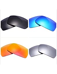 b9f41255a9 Set of 4 Polarized Replacement Lenses for Oakley Gascan Sunglasses NicelyFit
