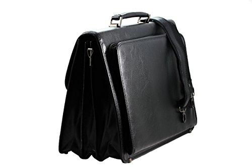 FERETI laptop Mensarbeitstaschen Messengerbags Freizeit Taschen Überschlagstaschen Umhängetaschen Crossover Taschen
