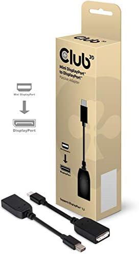 Club 3d Mini Displayport To Displayport Adapter Elektronik