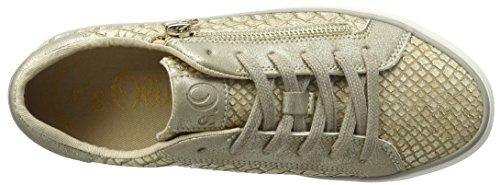 s.Oliver Damen 23615 Sneaker Beige (DUNE/GOLD 425)