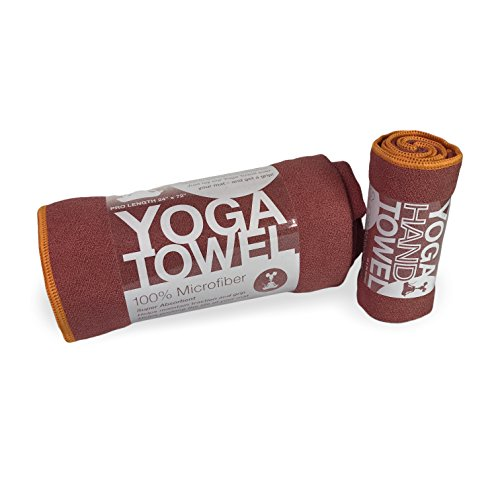 YogaRat Mat-length Yoga Towel and Yoga Hand Towel Set