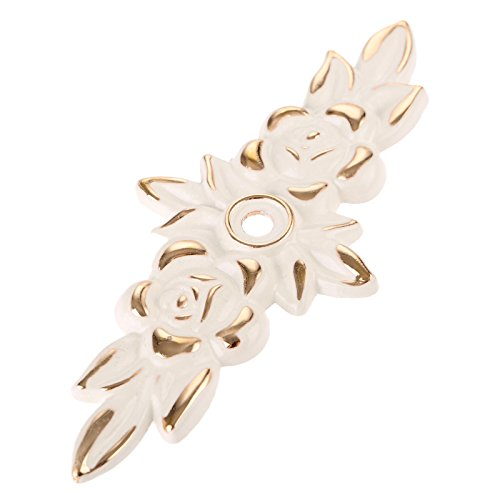 Choubao European Style Kitchen Furniture Cabinet Hardware Classic Rose Flower Shape Drawer Handle Pull Knobs - 10pcs by Choubao (Image #3)