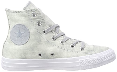 Grey Unisex Sneaker Collo Adulto – Wolf Grey Grigio 097 a Alto Converse White Wolf Ctas Hi qgYEfP