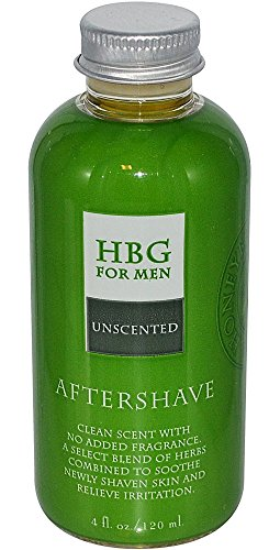 Honeybee Gardens For Men Aftershave Unscented -- 4 fl oz