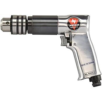 "Neiko 30083A 1/2"" Reversible Pneumatic Air Drill, 500 RPM |"