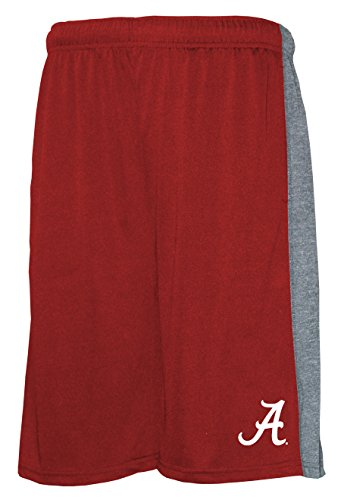 NCAA Men's Poly Shorts with Side Panel