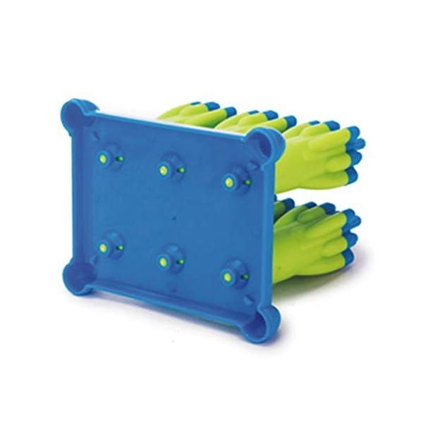 Danigrefinb Rocket - Stampo per cubetti di ghiaccio, 6 scomparti, per budini, gelatine, cubetti di ghiaccio, vaschetta… 6 spesavip