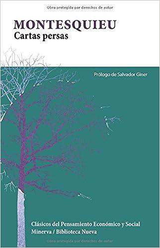 Cartas persas (Spanish Edition): Montesquieu: 9788488123794 ...