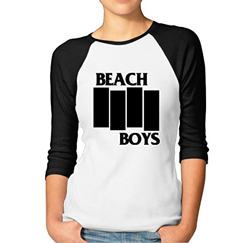 The Beach Boys Brian Wilson Carl Wilson Women's Raglan Baseball Jerseys T Shirts