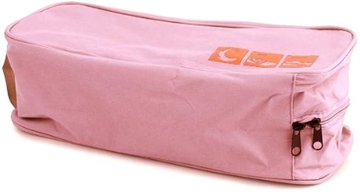 2Pcs Bolsa Tela Porta Zapatos Guarda Zapatillas Organizador Rosa para Viaje: Amazon.es: Zapatos y complementos