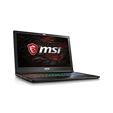 MSI GS63VR Stealth Pro-230 15.6 Ultra Thin and Light Gaming Laptop Intel Core i7-7700HQ GTX 1060 16GB 256GB NVMe SSD + 2TB VR Ready Metal Chassis
