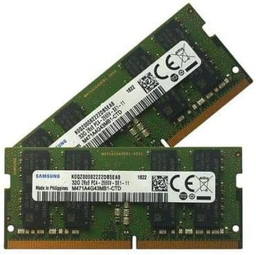 Samsung 32 Gb 260 Pin Ddr4 2666 So Dimm 2666 Mhz Computers Accessories