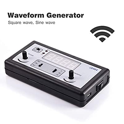 HATCHMATIC High Precision Signal Generator 4 Digital Tubes Function Generator Frequency Meter Arbitrary Waveform WG100: US