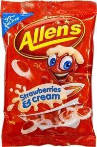 Allen's Strawberries & Cream - Chocolate Imported Hamper