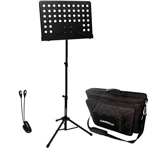 (ChromaCast FBA_CC-PS-MSTAND-KIT-1 Pro Series Music Stand Performance Pack)