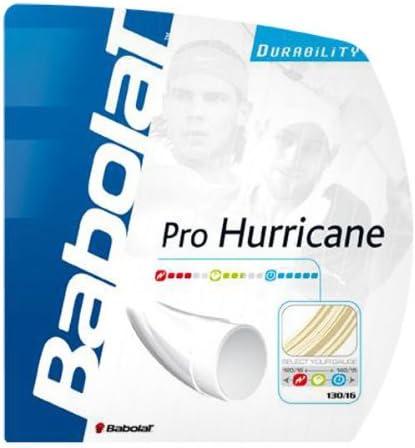 Babolat Pro Hurricane 18-Gauge Tennis String Natural