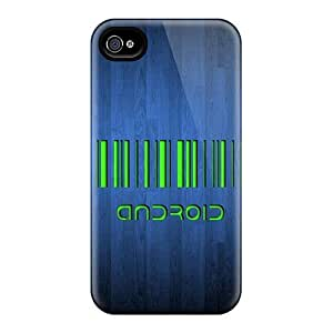 New Diy For Touch 5 Case Cover Covers Casing(android Barcode)