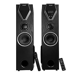Mitashi TWR 8699 BT 2.0 Channel Tower Speaker with Bluetooth (Black)