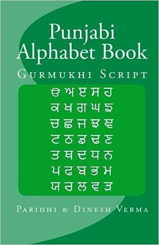 Buy Punjabi Alphabet Book: Gurmukhi Script Book Online at