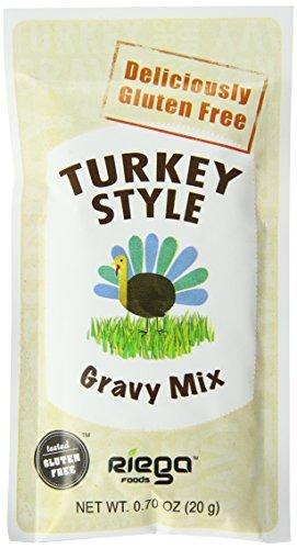 Riega Gluten Free Turkey Style Gravy Mix, 0.70 Ounce (Pack of (Style Gravy Mix)