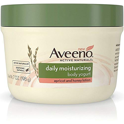 Aveeno Daily Moisturizing Body Yogurt Lotion, Apricot & Honey 7 oz (Moisturizing Yogurt Body)