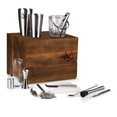 NBA Milwaukee Bucks Madison 19-Piece Tabletop Bar Set by PICNIC TIME