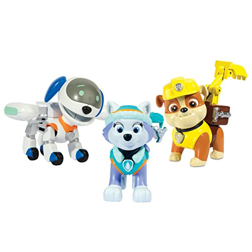Paw Patrol Action Pack Pup Robo Dog, Everest, Rubbble