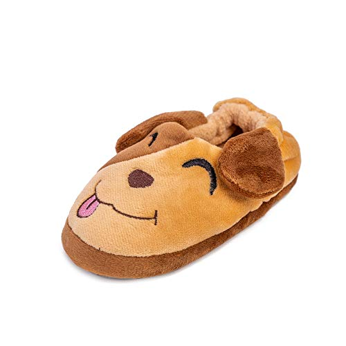 - Enteer Baby Boys' Doggy Slipper Khaki