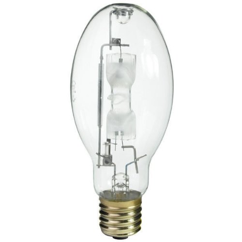 Philips Lighting 383877 ED37 Standard Metal Halide Lamp 350 Watt E39 Mogul Base 25200 Lumens 62 CRI 4000K Cool White