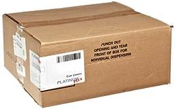 Webster PLA4870 Hexene Resin Platinum Plus Heavy Duty Waste Can Liner, 1.55 Mil, Flat Seal, 46\