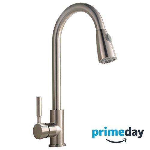 kitchen faucet nickel - 2