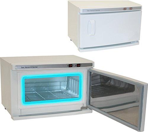 High Capacity Hot Towel & UV Sterilizer Cabinet Spa Salon Equipment