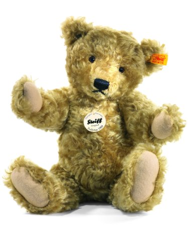 "Steiff Classic 1920 Teddy Bear Light Brown 10"" for sale  Delivered anywhere in USA"