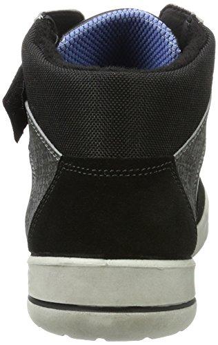 Ricosta Herren Trim Hohe Sneaker Schwarz
