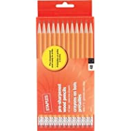 Staples Pre Sharpened #2 Yellow Pencils, 4 Dozen
