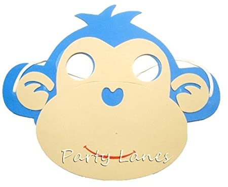 RETON Foam Animal Masks - 20 x Máscaras surtidos para niños: Amazon.es: Juguetes y juegos