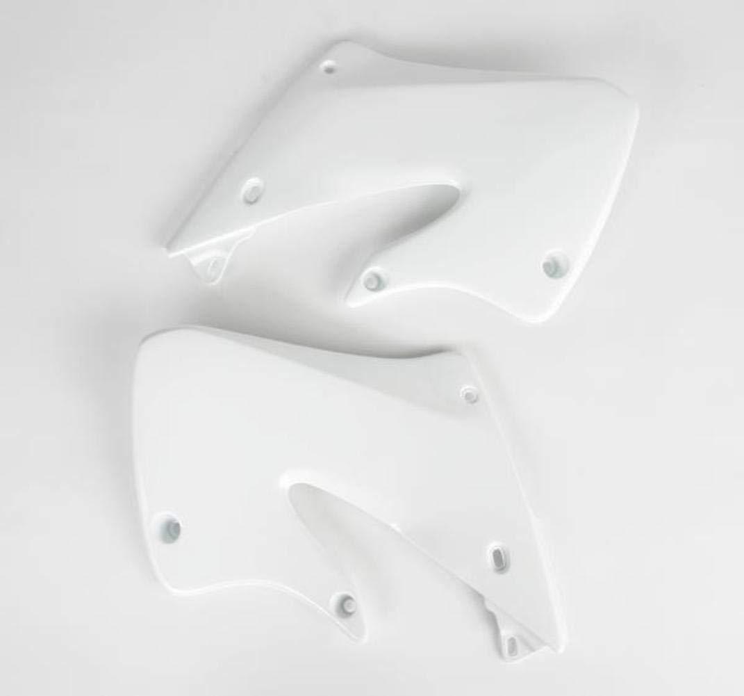 FOR HONDA RAD CVR CR250 97-99 WHITE UFO HO03601041 Replacement Plastic