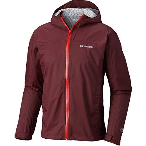 Columbia Men's EvaPOURation Waterproof Rain Jacket