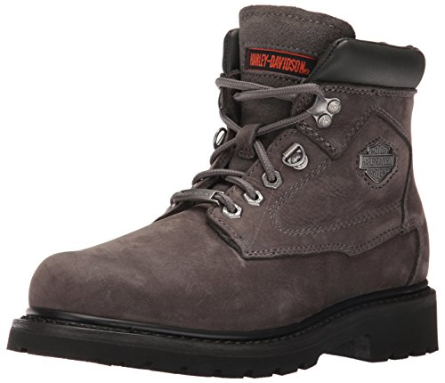 Grey Motorcycle Boots - 4