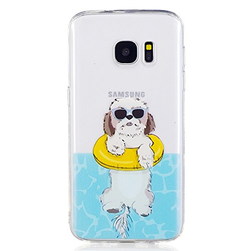 Price comparison product image Beryerbi Samsung galaxy s7 edge Case Fit-slim Soft Touch Flexible TPU Protective Cover (8, galaxy s7 edge)