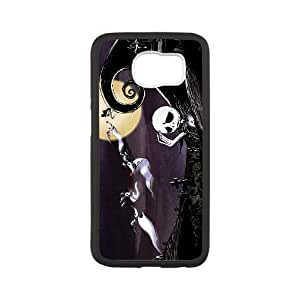 Jack Skellington Samsung Galaxy S6 Cell Phone Case Black MSY223948AEW