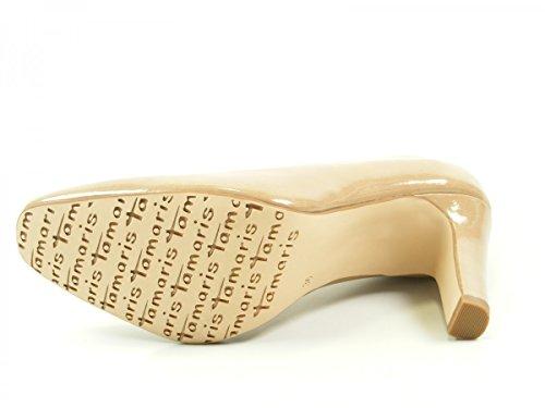 Tamaris 1-22427-27 zapatos de tacón alto para mujer Beige