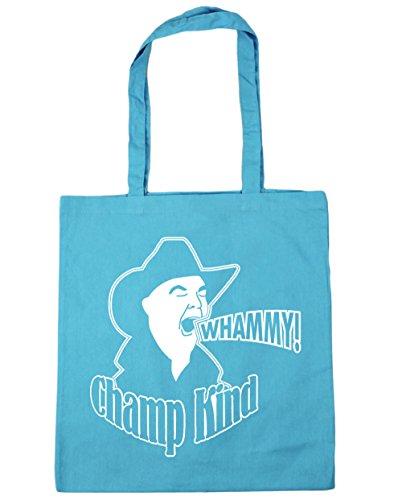 HippoWarehouse Whammy. Bolsa de la compra bolsa de playa 42cm x38cm, 10litros azul (Surf Blue)