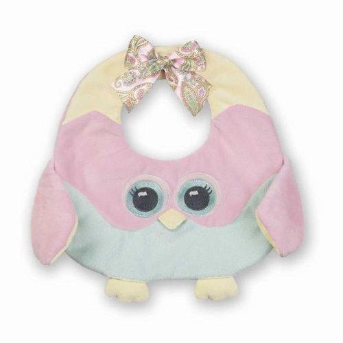 Lil Hoots Owl Baby Bib by Bearington Bear by Bearington Bears