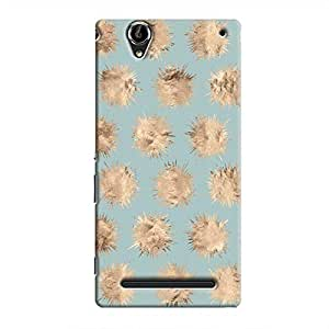 Cover It Up - Sand Star Cyan Xperia T2 Ultra Hard Case